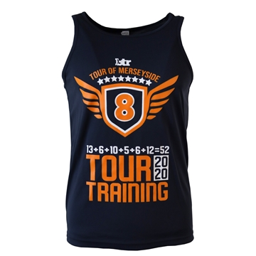 Picture of Unisex TOUR OF MERSEYSIDE 2020 Ultra Cool Vest in Navy