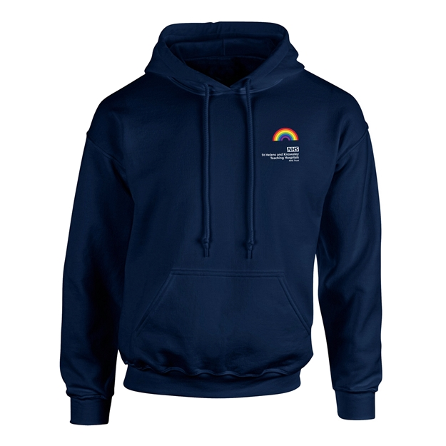 Picture of NAVY BLUE UNISEX HOODY PRE-ORDER AVAILABLE UNTIL THE 5TH OF MARCH, DISPATCH OF ORDER W/C 8TH OF MARCH